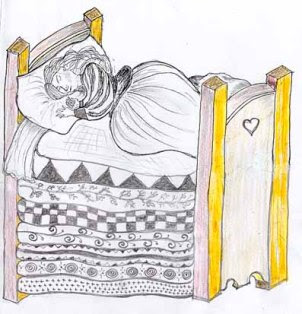 La princesa y el guisante en ingles, THE PRINCESS AND THE PEA