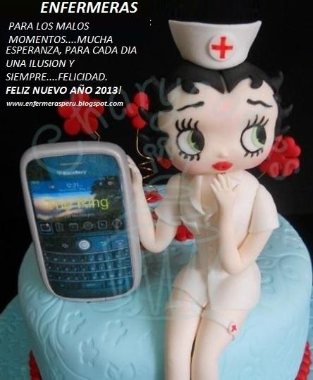 ENFERMERAS FELIZ NUEVO AÑO 2013
