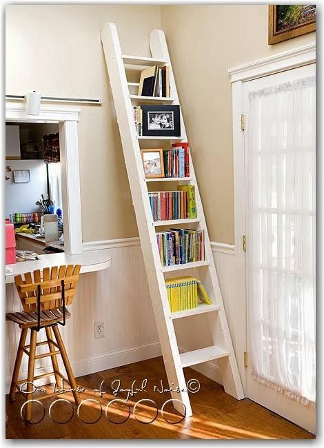 Decoclaje reciclar escaleras for Escalera madera decoracion