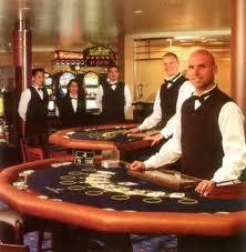 Работа в казино на лайнерах рулетка brigadier mastertape