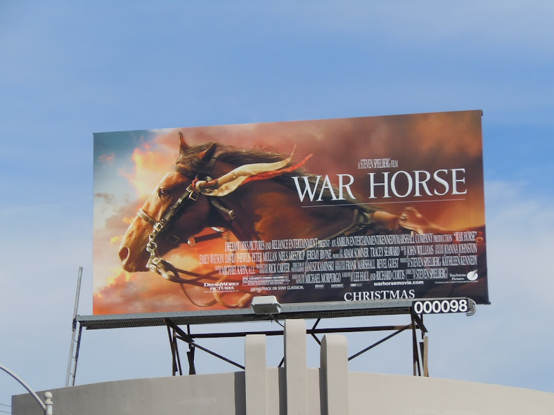 War Horse film billboard