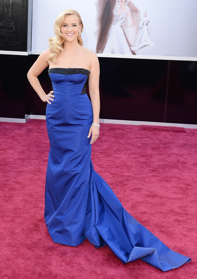Reese Witherspoon - Celebrity Fashion at the 2013 Oscars