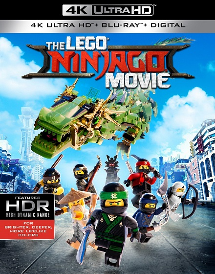 The LEGO Ninjago Movie 4K (Lego Ninjago: La Película 4K) (2017) 2160p 4K UltraHD HDR BDRip 9.1GB mkv Dual Audio DTS 5.1 ch
