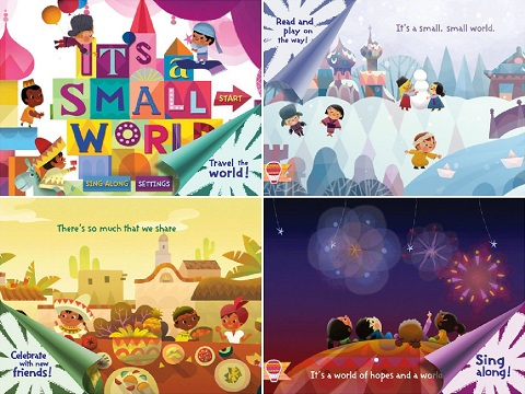 it's a small world app