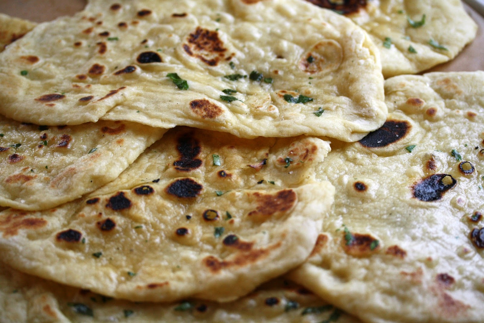Homemade Naan Bread - Saving Room for Dessert