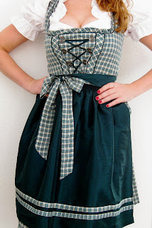 my first German Dirndl dress
