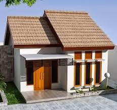 Desain rumah minimalis tampak belakang