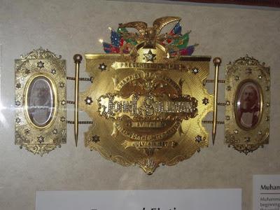Cinturón de campeón John L. Sullivan