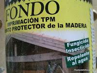 Imprimación protectora para madera, enredandonogaraxe.com