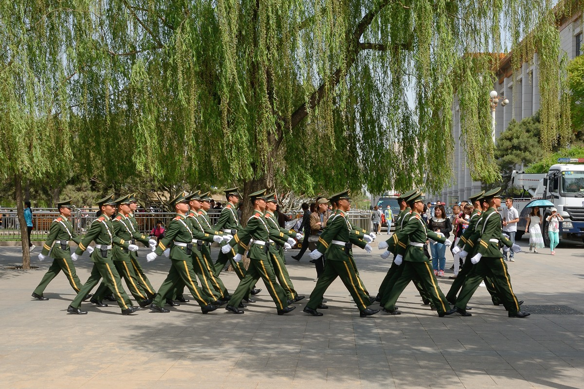 People's Armed Police in Beijing
