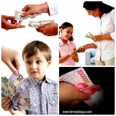 Uang dari Teman Suami Untuk Istri dan Anak