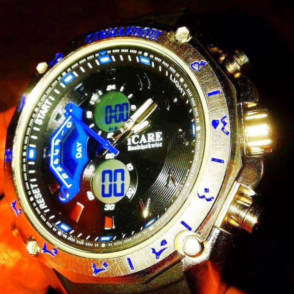 Specifikasi atau specs jam tawaf digital iCare Comando. Jam tawaf icare comando Norman Hakim. Anticlockwise Info & spec