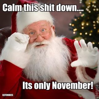 November message from Santa