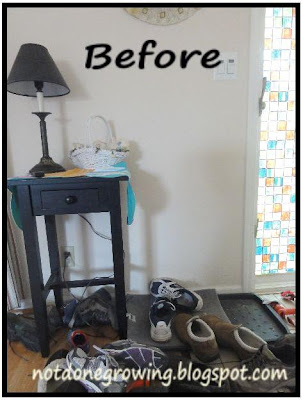 entry way organization tips
