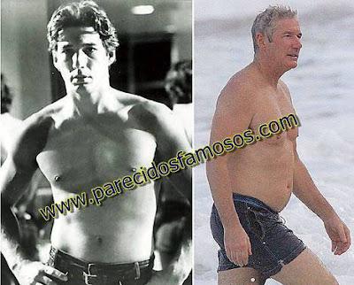 Richard Gere Famosos antes y después