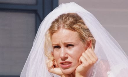 Why You Shouldn't Ignore Pre-Wedding Jitters - sad nervous woman bride