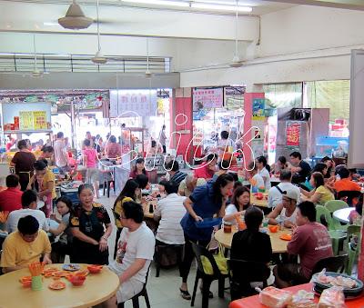 Kway Teow Kia breakfast Johor