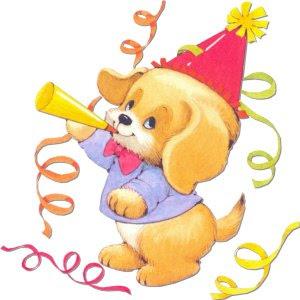 perro+celebrando+cumplea%C3%B1os Fotos e Imagenes de cumpleaños para bebes...