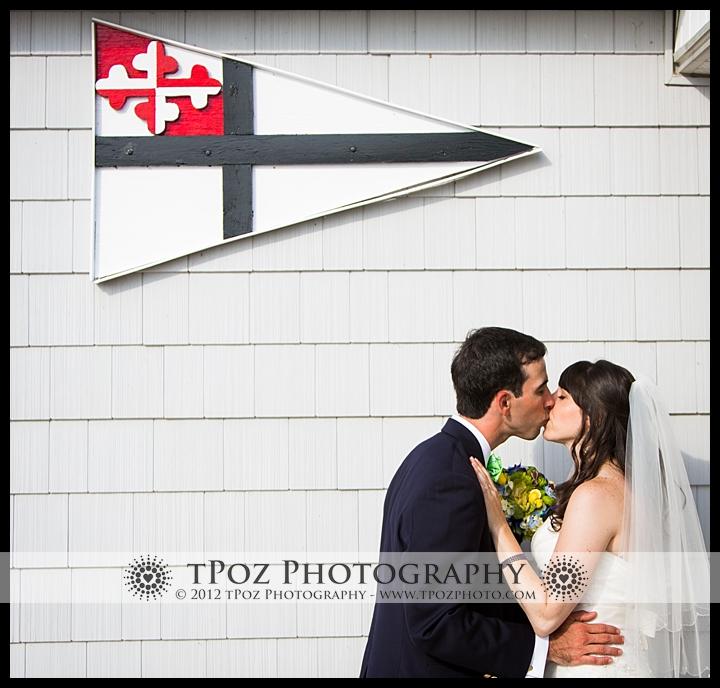 Gibson Island Yacht Club Wedding