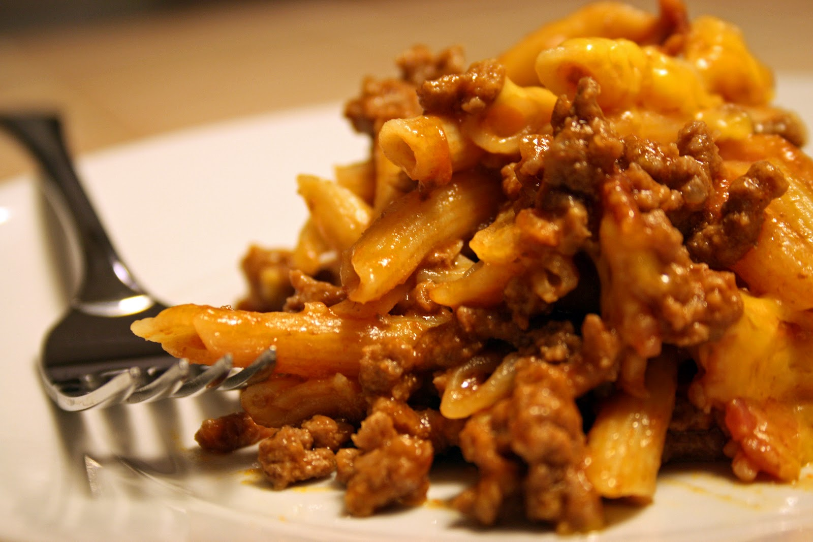Lazy Gluten Free: Bacon Cheeseburger Pasta