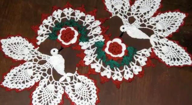 Doilies crochet for christmas holiday | knitting and crochet