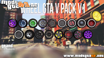 SA - Pack de Rodas do GTA V v1