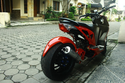 modif motor honda beat low rider