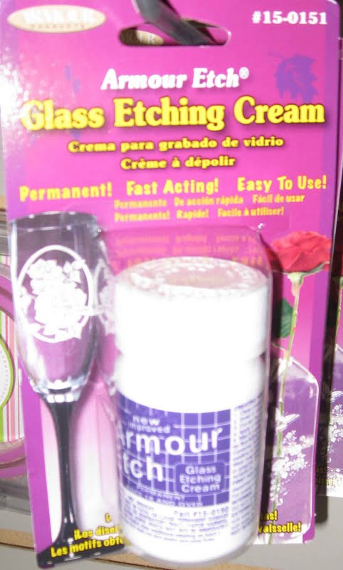 Frosting Glass With Armour Etch