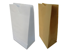 Craft Paper Bag with Bottom