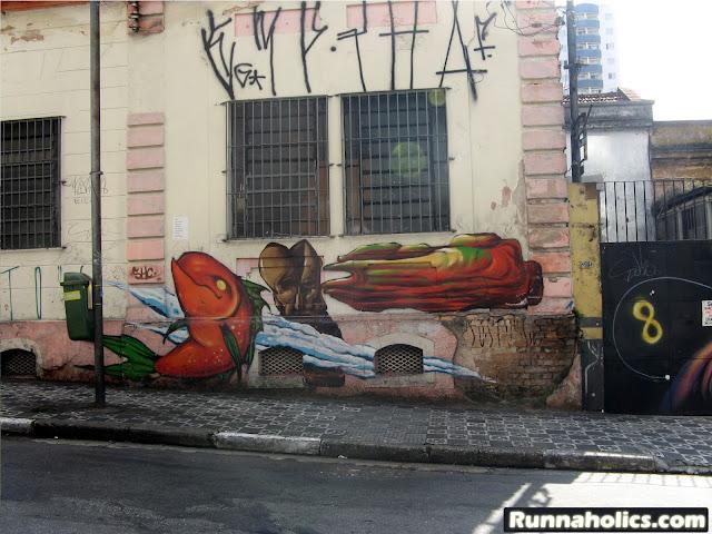 Street Art ou Arte Urbana ou Graffiti - Tudo é arte em SP