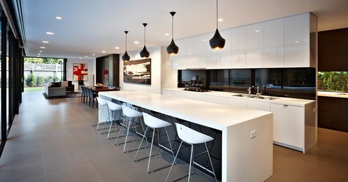 Casas minimalistas y modernas cocinas ultramodernas i for Cocinas ultramodernas