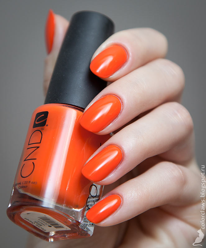 CND Electric Orange