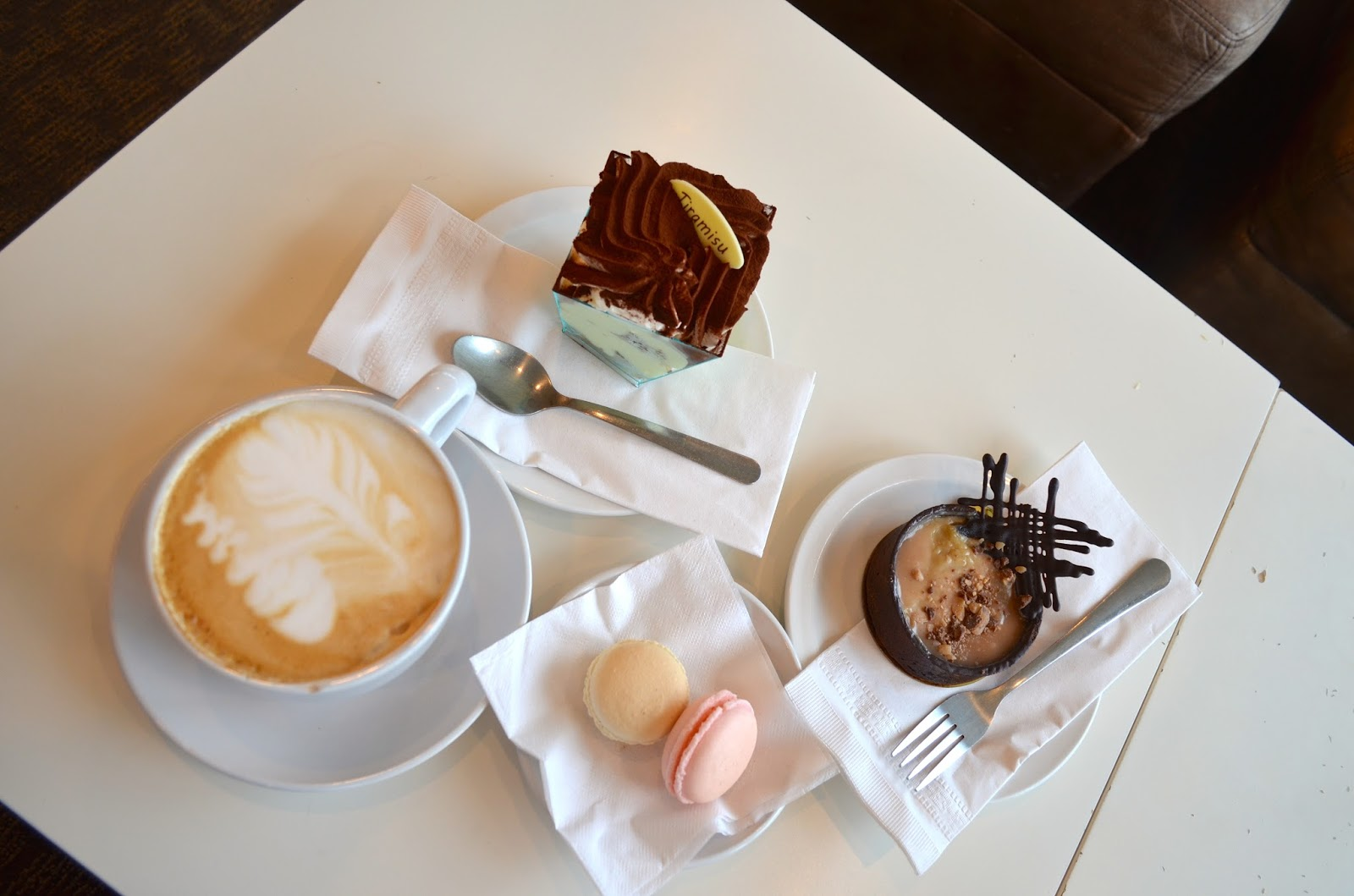 Coffee and Pastries at Chapelure