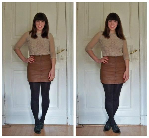 30 Kleidungsstücke für 30 Tage ergeben 30 verschiedene Outfits Tag 26