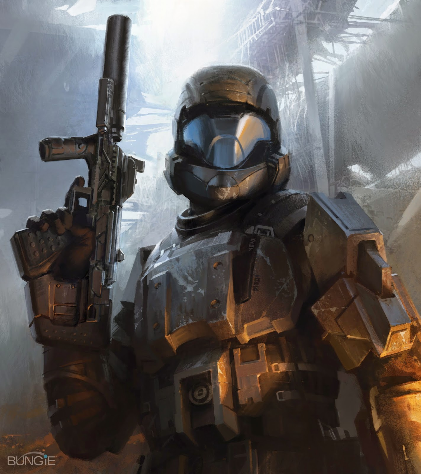 Future war stories fws armory silenced weapons by yoel - Halo odst images ...