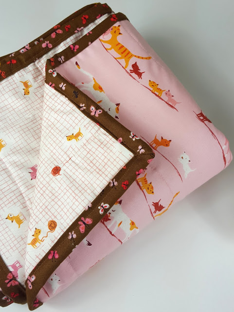 Tutorial | Melissa's 2 Hour Bound Whole Cloth Quilt