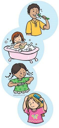 Aulas para evangeliza o infantil atividades higiene pessoal for Objetos para banarse