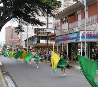 Chiozza, la calle principal de San Bernardo