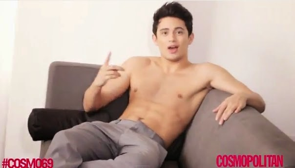 James Reid in Cosmo Tower 69 video