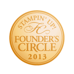 I earned Founder's Circle 2013 - THANK YOU!