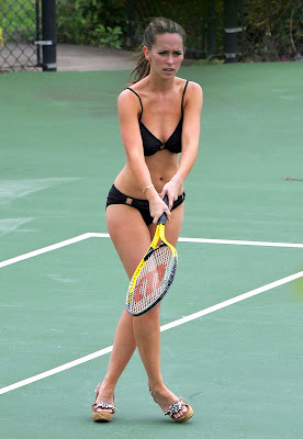 Jennifer Love Hewitt Tennis Bikini