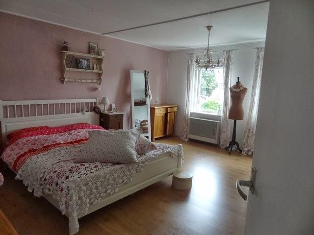 Onder de appelboom brocante en theetuin: Een kijkje in de slaapkamer...