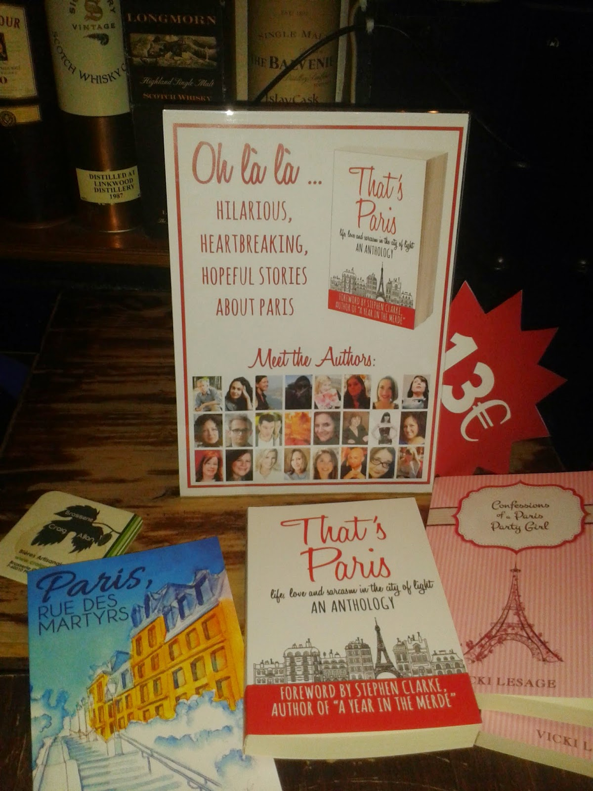 That's Paris Launch Party: The Books
