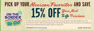 on the border printable coupons