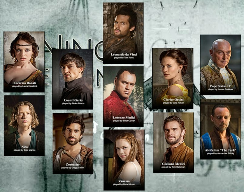 full cast da vincis demons