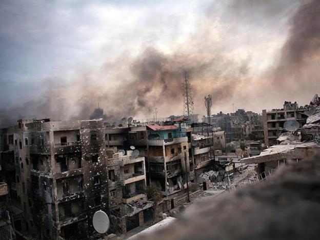 Rusia lancar serangan udara di Syria