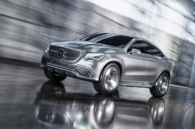 Tecnoneo Mercedes Benz Concept Coupe Suv Un Todocamino Con Tracci N Total