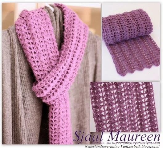 Vanliesbeth Gehaakte Sjaal Maureen