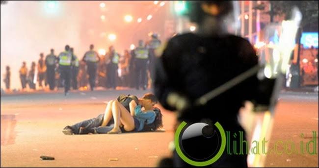 Ciuman Kerusuhan Vancouver