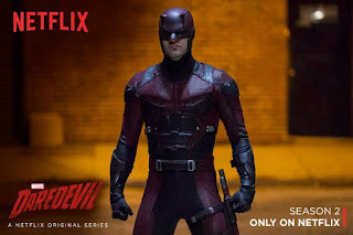 Marvel comics Stan Lee Daredevil Netflix TV series Matt Murdock Season 2 trailer Bullseye Electra Punisher